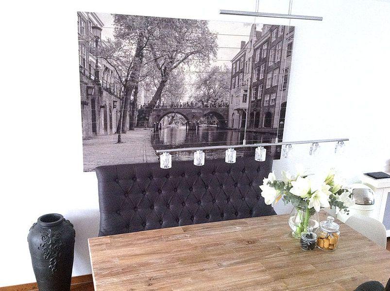 Klantfoto: Brug over gracht Utrecht (Gaardbrug) van Ramona Stravers