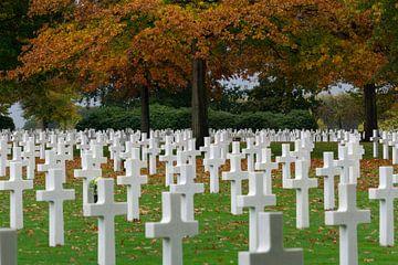"""Margraten Amerikaanse begraafplaats """"eeuwige rust"""". van Onno Alblas"""