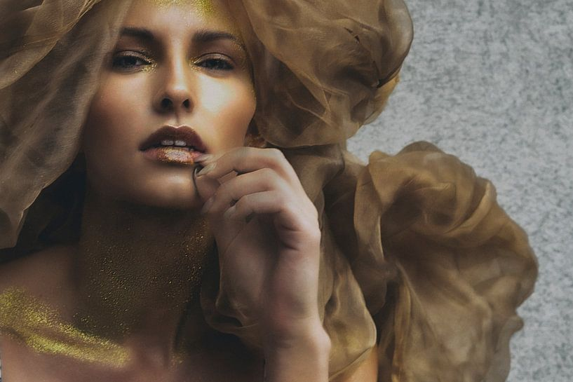 golden girl van Pamsfotografie Pamela Bakhuizen