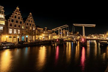 Haarlem bei Nacht_02 von Johan Honders