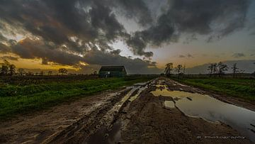 Sonnenuntergang des Mennoniten von w grob