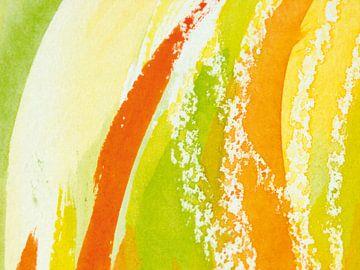 Aquarel VI van Herma Egberts