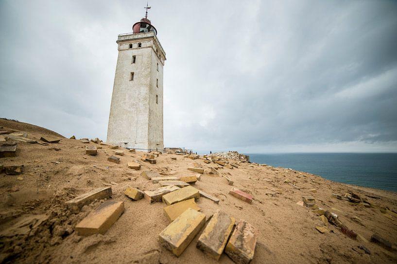 Rubjerg Knude Fyr Vuurtoren Denemarken van Ellis Peeters