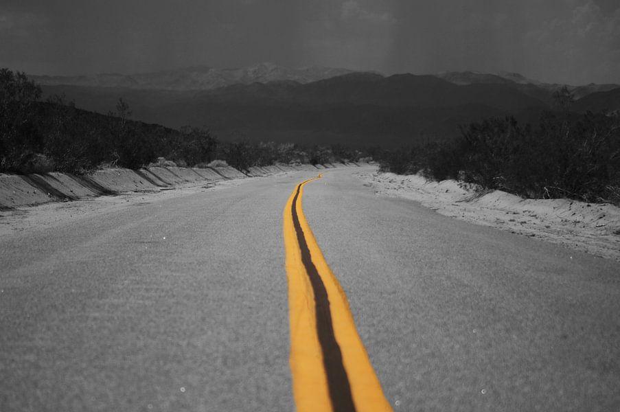 Desert Highway van Michiel Heuveling