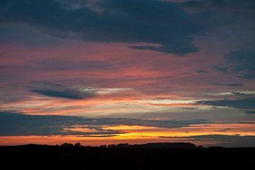 na zonsondergang van George Burggraaff
