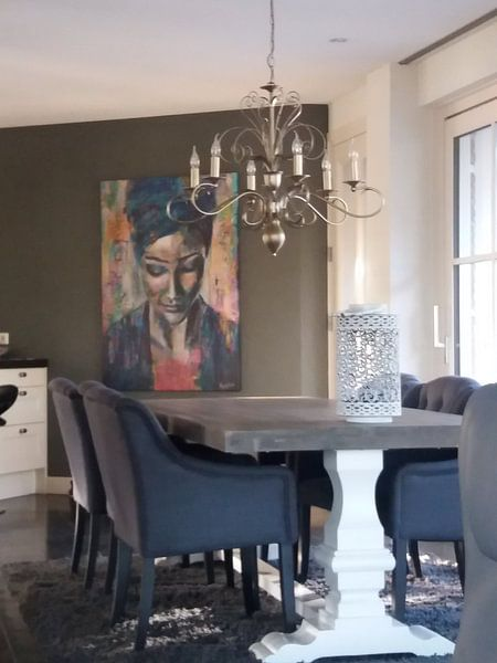 Klantfoto: Listen van Flow Painting