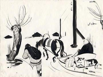 Winter, 1929 von Atelier Liesjes