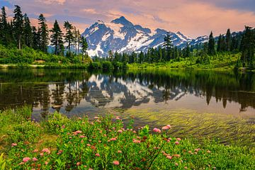 Mount Shuksan, Washington State, Vereinigte Staaten von Henk Meijer Photography