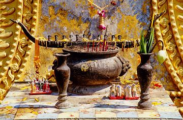 Offersite Pattaya - analoge fotografie! van Tom River Art