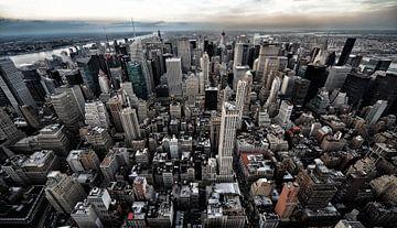 Skyline New York City van Edward van Hees