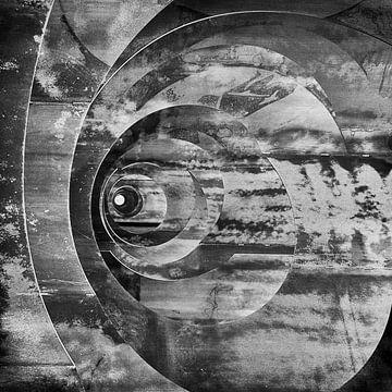 Abstractie sur Guus Jamin