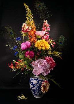 bunte Blumen von simone swart