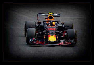 Max Verstappen - Redbull - 33 - 2018 von Henk Zielstra