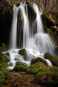 Waterval in de Bärenschützklamm - Stiermarken - Oostenrijk van Felina Photography