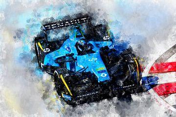 Nelson Piquet junior, Formule E van Theodor Decker