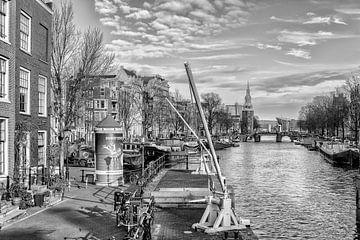Die Sint Antoniesluis Amsterdam. von Don Fonzarelli
