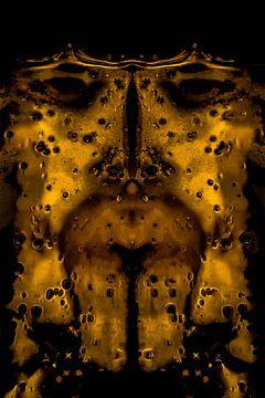 Gouden masker van Roel Verver