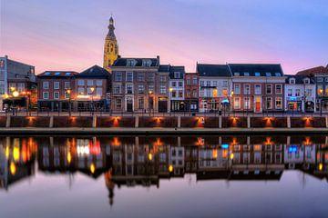 Ochtendgloren in de Haven van Breda van Martijn Mureau
