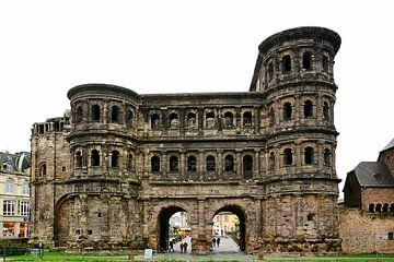 Porta Nigra in Trier van Gisela Scheffbuch
