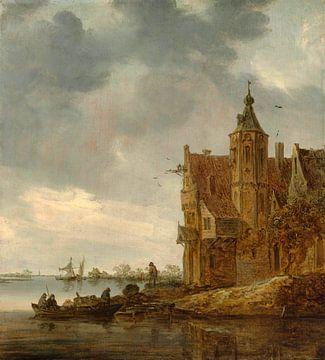 Landhaus am Wasser, Jan van Goyen