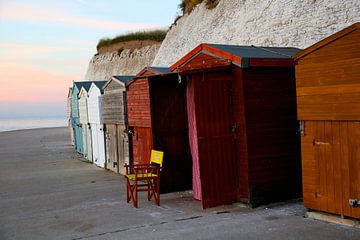 Strandhutjes van Eva Knoet