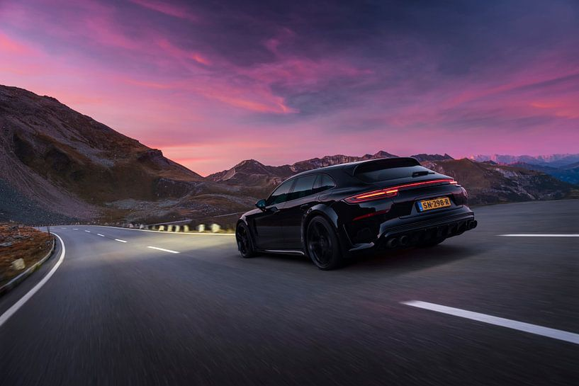Techart Grand GT Porsche Panamera Turbo S E Hybrid DJ La Fuente sur Gijs Spierings