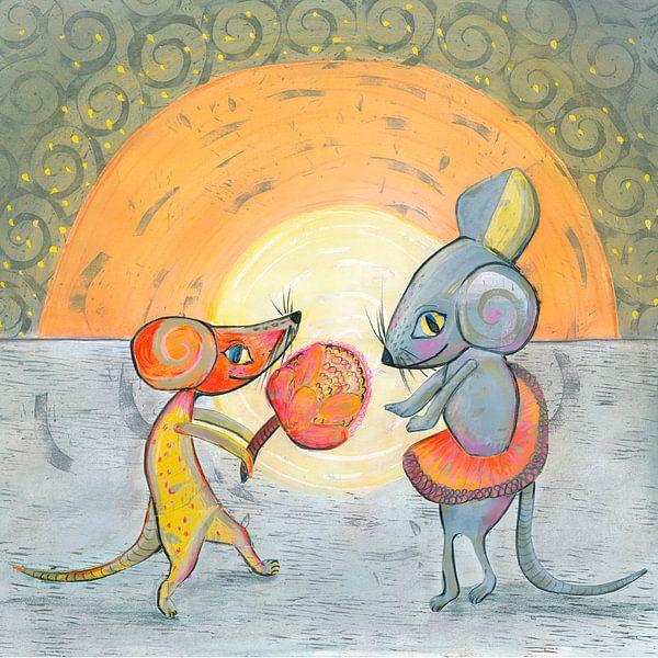 Mouse-love van Edith van Zutven