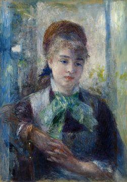 Porträt von Nini Lopez, Pierre-Auguste Renoir
