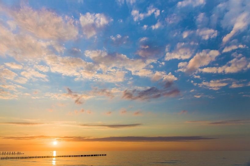 Sonnenuntergang an der Ostsee von Christian Müringer