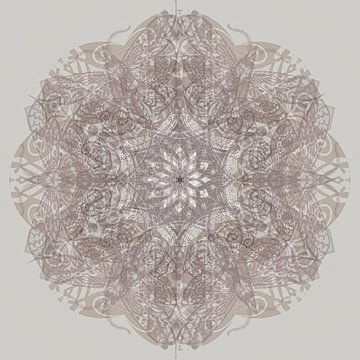 Kaleidoscope, taupe von Rietje Bulthuis