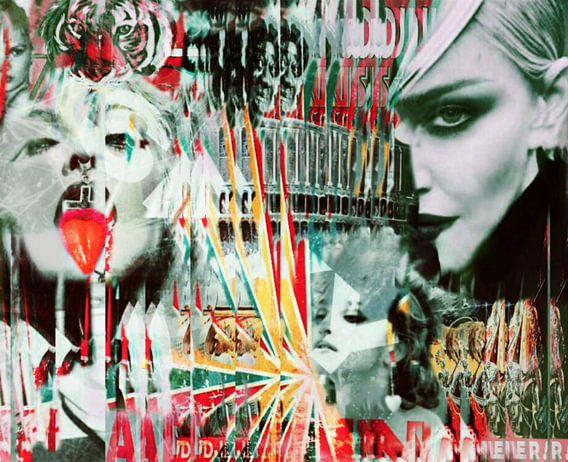 Madonna Zirkus Dadaismus Pop Art PUR van Felix von Altersheim