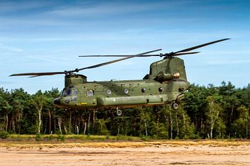 Tieffliegender Chinook der Königlichen Niederländischen Luftwaffe von Jeffrey Schaefer