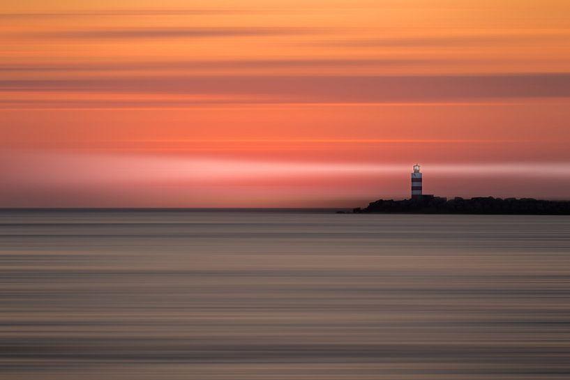 Sunset motion van Martijn Kort