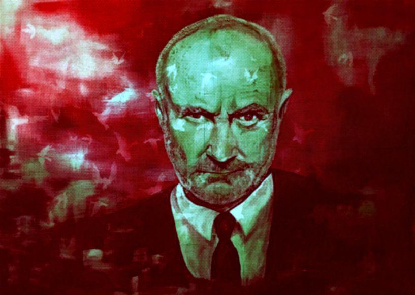 Phil Collins Impressionismus Pop Art PUR van Felix von Altersheim