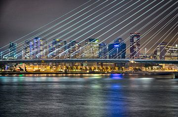 Rotterdam erasmusbrug van Eisseec Design