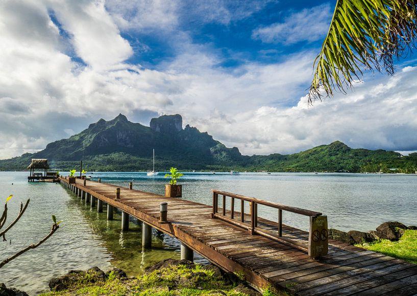 Steiger op Bora Bora van Ralf van de Veerdonk