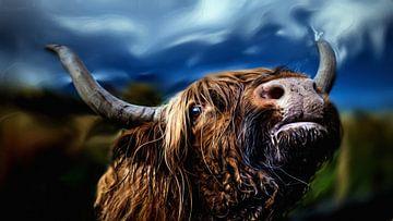 Schottischer Hochlandbewohner von Maurice Dawson