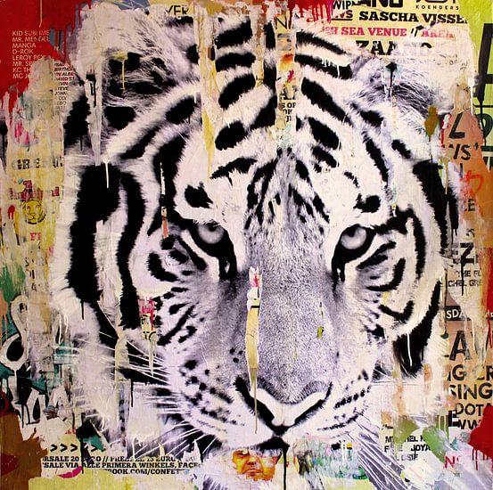 Tigerstyle no2 van Michiel Folkers