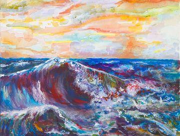 Wildes Meer von Renée Prevoo