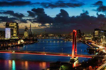 Les ponts de Rotterdam sur Roy Poots