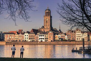 Was für eine Aussicht auf die Skyline von Deventer von Jaimy Leemburg Photography