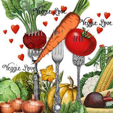 Veggie Day von christine b-b müller
