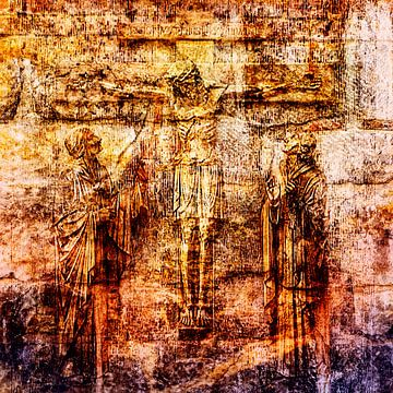 INRI (Iesus Nazarenus Rex Iudaeorum) van 2BHAPPY4EVER.com photography & digital art