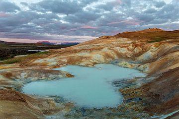 Sulfur lake in Skutustadahreppur area von Ab Wubben