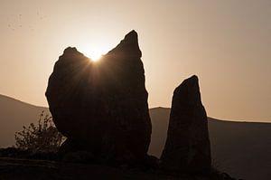 Zorats Karer, Stenen van Macht, Armenië (3) van Anne Hana
