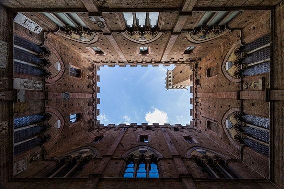 Der Palazzo Pubblico (Palazzo Comunale, das Rathaus) von Leanne lovink