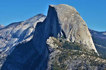 Half dome Yosemite van