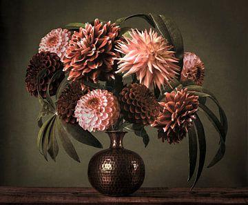 Blumenstillleben von Petri Vermunt