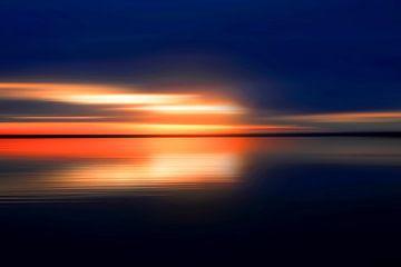 Avond aan het meer