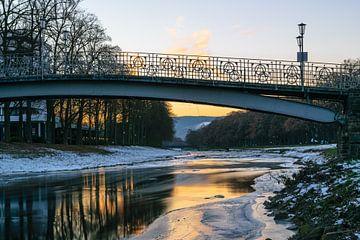 Winter an der Ahr von Heinz Grates